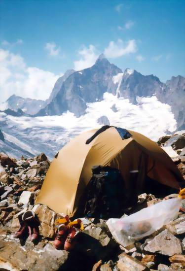 Field-testing in the wind river range a double-wall mid tent, which i buffalo head,wind river range,wyoming,tent